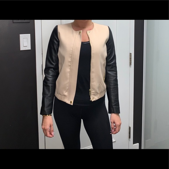 H&M Pink and black jacket
